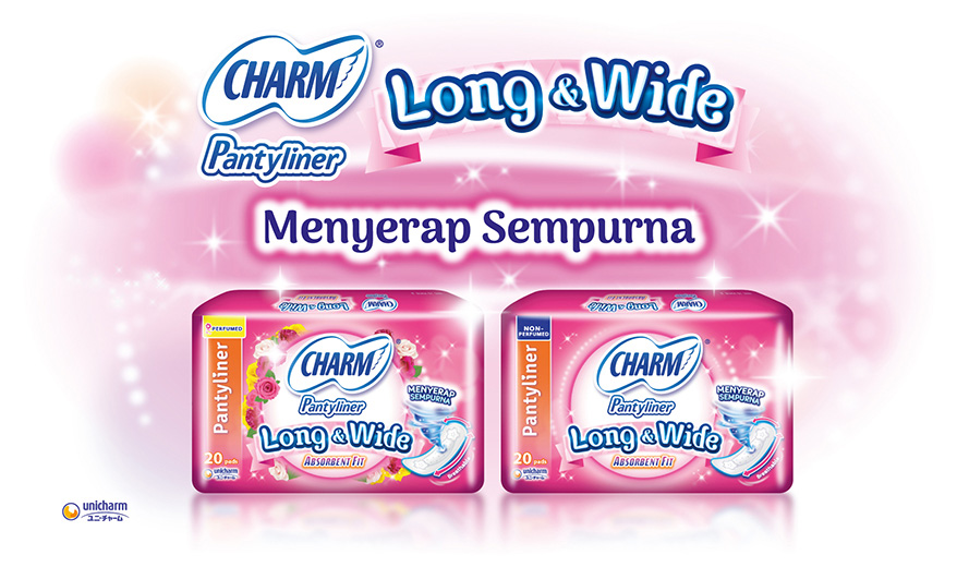 CHARM Pantyliner Long & Wide