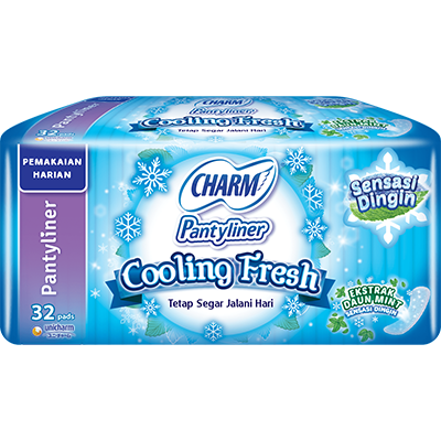CHARM Pantyliner Cooling Fresh – Slim