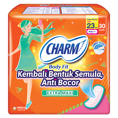 CHARM Body Fit® Extra Maxi – Non Wing 23cm