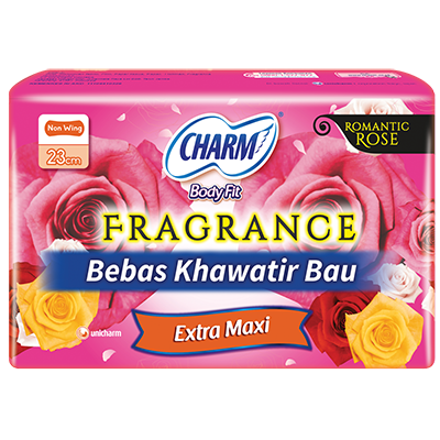 CHARM Body Fit® Fragrance – Extra Maxi Non Wing 23cm