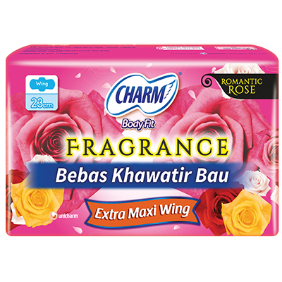 CHARM Body Fit® Fragrance – Extra Maxi Wing 23cm