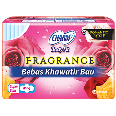 CHARM Body Fit® Fragrance – Super Slim Wing 23cm
