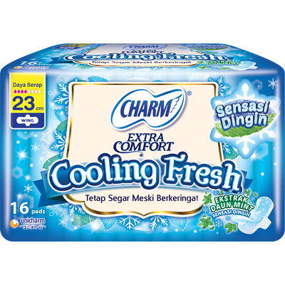 CHARM Cooling Fresh - Wing 23cm 16p