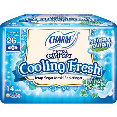 CHARM Cooling Fresh - Wing 26cm 14p