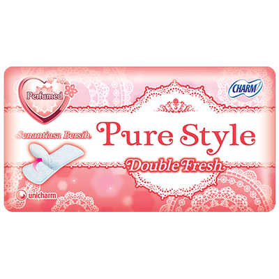 CHARM Pantyliner Double Fresh Parfume