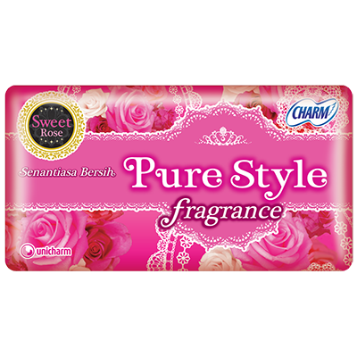 CHARM Pantyliner Purestyle Fragrance Sweet Rose