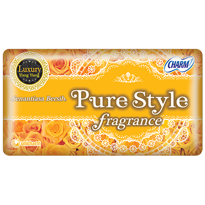 CHARM Pantyliner Purestyle Fragrance Luxury Ylang Ylang